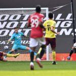 مباراة مانشستر يونايتد وبيرنلي في الدوري الإنجليزي